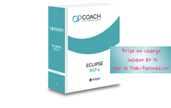 Formation Eclipse RCP 4  du 3 au 6 novembre 2020, zoom ou Toulouse jusque 80 % pris en charge